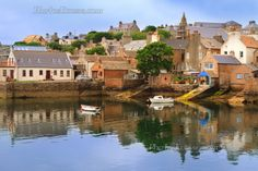 Stromness reflections. West Mainland Orkney. Scotland.