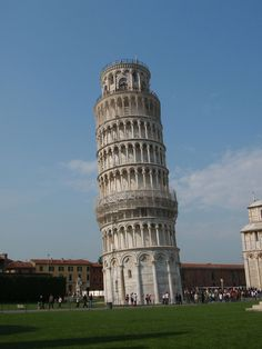 Italy Leaning Tower Of Pisa | The leaning tower of Pisa, Italy