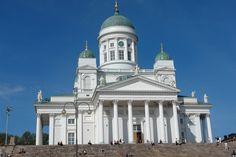 Petersburg to Helsinki and Stockholm Learn Finnish, Finnish Language, Visit Helsinki, Interesting History, Beautiful Buildings, Kirchen, Capital City, Dom, Taj Mahal