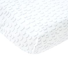 Eyelash Gray Crib Sheet - perfect for an eclectic nursery! #PNshop