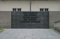 Never Again - Dachau Concentration Camp, Germany