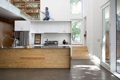 Casa de Marsha Fatino e Alison Thorn - Burton Baldridge Architects,(Foto: Ryann Ford / The New York Times)
