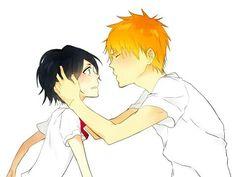 Ichigo E Rukia, Rukia Bleach, Bleach Anime, Bleach Couples, Manga Love, Shinigami, Anime Ships, Ghibli, Comics