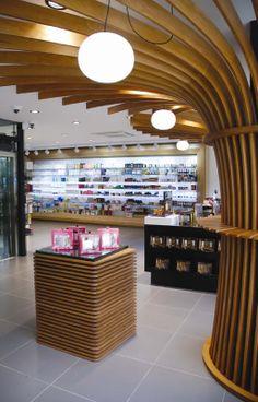 Pharmacy designed by Voyatzoglou Systems Located@Glyfada, R.Dirxalidou