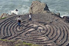 Land's End Labyrinth, San Francisco.  A hidden gem!