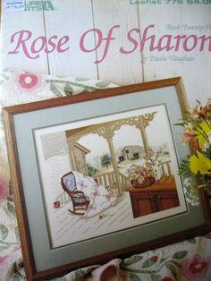 Rose of Sharon by Paula Vaughan Cross Stitch      Price: $4.88