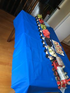 Fruit train birthday party