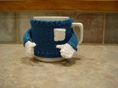 Ravelry: Tooty's Mug Sweater Cozy by DeeAnna Manning