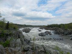 Great Falls National Park, Virginia E. Lizard Breath Speaks - my blog http://www.elizardbreathspeaks.com/2015/07/great-falls-national-park-virginia.html