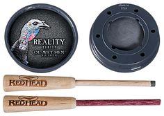 RedHead Reality Series Ol' Wet Hen Turkey Call - Glass over Slate-$20.00