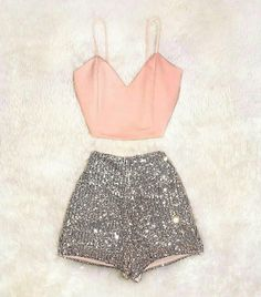 Casual Smart wear for trendy girls Glamouröse Outfits, Crop Top Outfits, Stage Outfits, Girly Outfits, Outfits For Teens, Pretty Outfits, Girls Fashion Clothes, Teen Fashion Outfits, Style Fashion