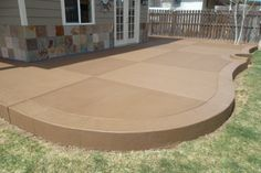 patios on pinterest stamped concrete concrete patios