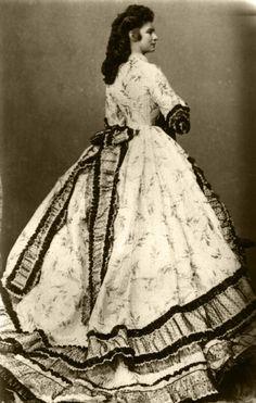 Empress Elisabeth (Sissi) of Austria, 1866