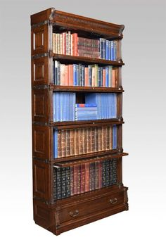 Antique Lawyer Barrister Bookcases For Sale Antique