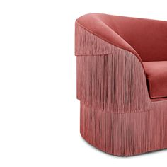 Fringes Sofa by Munna Design #Munnadesign #sofa #Fringes #craftsmanship #MO2017 #Paris #midcenturymodern #furniture #design #newdesign #handmade #trends #interiordesign #inspiration #upholstery