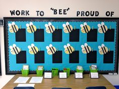"""A gorgeous display """"work to bee proud of"""" Will match my mini beast theme (need to incorporate that mat somehow!!)"""