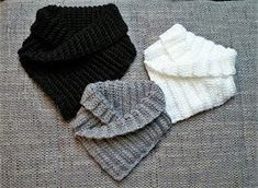 Häkelfieber Austria Shawl Collar Loop Scarf Instructions for Free BLO Knitted Braided Scarf, Loop Scarf, Knitted Baby Blankets, Knitted Shawls, Free Crochet, Knit Crochet, Crochet Hats, Knitting Patterns, Crochet Patterns