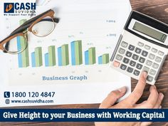 Cash Suvidha: Give Height to Your Business with Working Capital. #BusinessLoan #LoanforSME #LoanforMSME #OnlineApplication