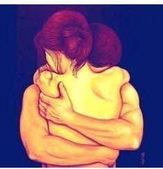 Esse devia ser nosso único aperto na vida: o abraço