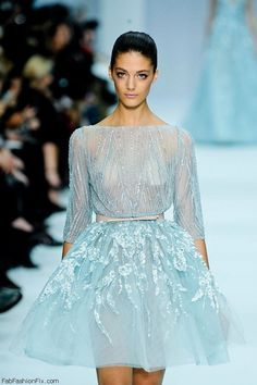 Remembering the Elie Saab Haute Couture spring/summer 2012 collection | Fab Fashion Fix