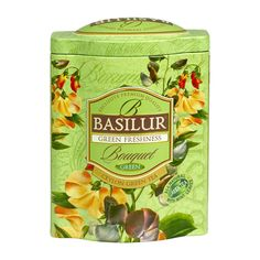 Basilur Tea Green Freshness Loose Leaf Green Tea | RedMart