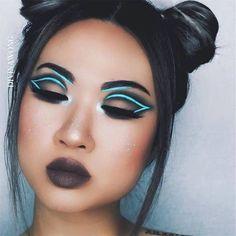 The best ways to Use Eyeliner – Eye Makeup Look Eye Makeup, Makeup Art, Makeup Tips, Beauty Makeup, Movie Makeup, Fairy Makeup, Drugstore Beauty, Mermaid Makeup, Creative Makeup Looks