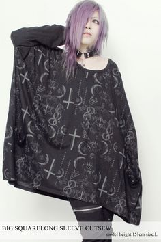 SEX POT ReVeNGE,BIG SQUARE Long Sleeve Cutsew,APPAREL  listed at CDJapan! Get it delivered safely by SAL, EMS, FedEx and save with CDJapan Rewards!