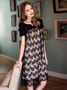 Lace Baby Doll Dress 10/2014