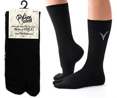 b9de1aeaa124 3 Pairs Combo V-Toe Athletic Flip Flop Socks - Tabi Black Solid Sports or  Casual Wear Mens or Womens