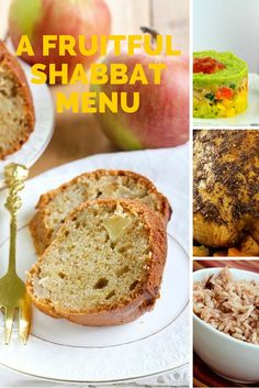 A Fruitful Shabbat Menu. Every week we have a complete Shabbat menu ready with all the recipes you need. Try it this week!