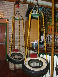 Another tire swing.