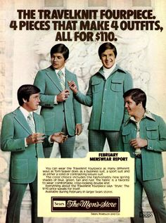 Leisure suits!