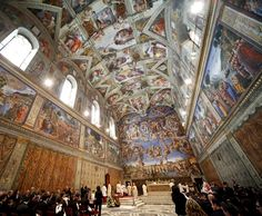 Sistine Chapel Been here twice another check off my bucket list! This is a gorgeous place to see! Was here the last time in May of 2012 with our good friends from Colorado Debbie and Tommy. Had been here before with Pam and Ben.