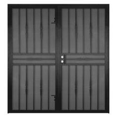 Double Door Security Gate