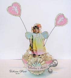 Valentine's Fairy Tea Cup