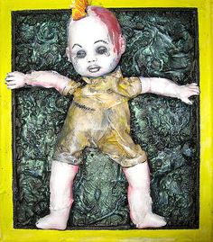 Just asleep after a Hard Life by Danny Hennesy Life Paint, Life Is Hard, Abstract Art, Doll, Deviantart, Wall Art, Artworks, Fictional Characters, Weird