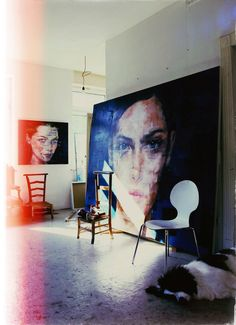 Artist Harding Meyer Paints More Beautifully Glitchy Portraits