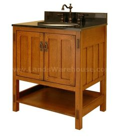 craftsman bathroom vanity | Sagehill Design American Craftsman Vanity AC3021 Traditional Bathroom ...