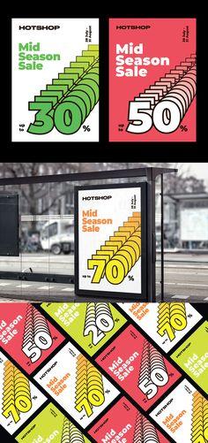 Mid Season Sale Poster Design AI, EPS Poster Templates, Sale Poster, Seasons, Design, Seasons Of The Year, Design Comics