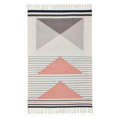 Teppich, Skandinavisches Design, Baumwolle Vorderansicht