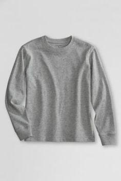 Try our School Uniform Long Sleeve Essential Tee at Lands' End. Pe Uniform, School Uniform, Essentials, Detail, Sweatshirts, Tees, Long Sleeve, Sweaters, T Shirt