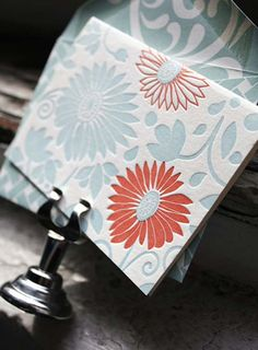 Blind Impression Thank You Cards | Letterpresses, Typography And Graphics