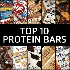 Protein bars are meant to fill our nutrition gap when whole foods are not available to us. Here, we discuss our top 10 protein bars.