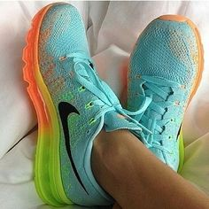 Colorful Nike sport shoes