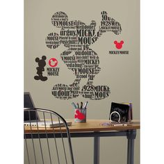Bring the magic of Disney's iconic Mickey Mouse to any wall with this clever…