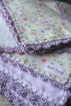Baby Blankets & Burp Cloth Sets