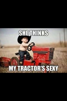 Must do this with my son only the tractor MUST be green!!!