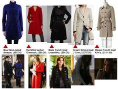 Kate Beckett coats
