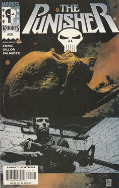 The Punisher # 2 Marvel Knights Imprint of Marvel Comics