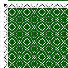 draft image: Threading Draft from Divisional Profile, Tieup: A Handbook of Weaves by G. H. Oelsner, Draft #44533, 4S, 4T